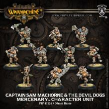 Mercenary Capt. Sam Machorne & Devil Dogs (10)